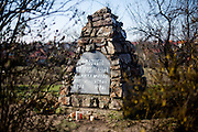 "Memorial reminding the The Battle of White Mountain which was an early battle in the Thirty Years' War fought on 8 November 1620, in which an army of 30,000 Bohemians and mercenaries under Christian of Anhalt were defeated by 27,000 men of the combined armies of Ferdinand II, Holy Roman Emperor under Charles Bonaventure de Longueval, Count of Bucquoy and the German Catholic League under Johann Tserclaes, Count of Tilly at Bílá Hora (""White Mountain""), near Prague (now part of the city). The battle marked the end of the Bohemian period of the Thirty Years' War and decisively influenced the fate of the Czech lands for the next 300 years."