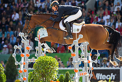 Peter Thomsen, (GER), Horsewares Barny - Jumping Eventing - Alltech FEI World Equestrian Games™ 2014 - Normandy, France.<br /> © Hippo Foto Team - Leanjo De Koster<br /> 31-08-14
