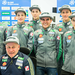 20170123: SLO, Ski Jumping - Press conference of Slovenian Nordic team at Telemach