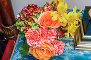 colourful flower arrangement bouquet