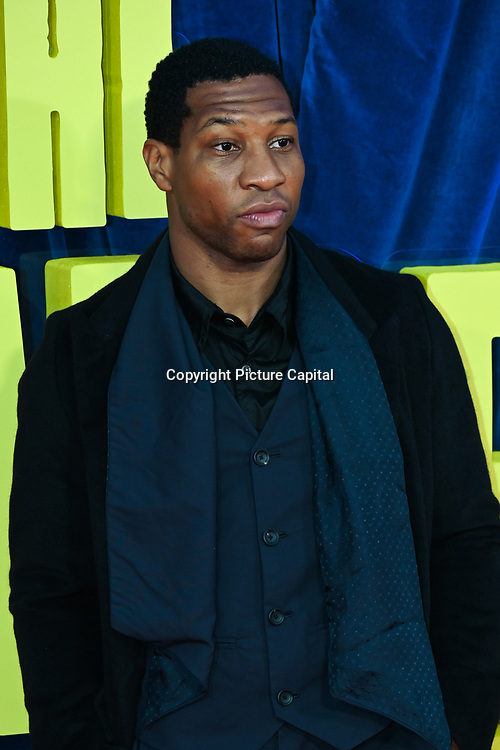 """Jonathan Majors attended """"The Harder They Fall"""" Opening Night Gala - 65th BFI London Film Festival, Southbank Centre, London, UK. 6 October 2021."""