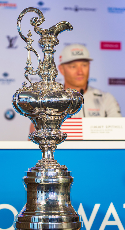 Jimmy Spithill, helmsman<br /> Oracle Team USA<br /> <br /> 2017 35th America's Cup Bermuda