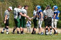 Varsity Football Gilford versus Newfound September 3, 2011.