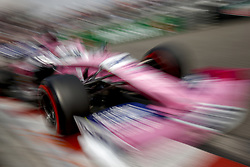 May 25, 2019 - Monte Carlo, Monaco - Motorsports: FIA Formula One World Championship 2019, Grand Prix of Monaco, ..#11 Sergio Perez (MEX, Racing Point F1 Team) (Credit Image: © Hoch Zwei via ZUMA Wire)