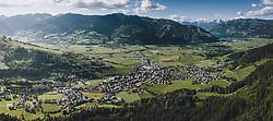THEMENBILD - Panoramaansicht Kaprun bis zum Zeller See, aufgenommen am 01. Juni 2020 in Kaprun, Österreich // Panoramic view from Kaprun to the Zeller See, Kaprun, Austria on 2020/06/01. EXPA Pictures © 2020, PhotoCredit: EXPA/ JFK