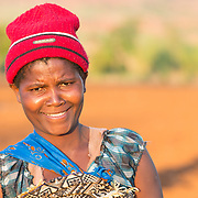 CAPTION: This is Velinasi Kaliofasi. She is wife to Fidelis Dickson and the mother of their seven children. They belong to the Ngoni tribe, an ethnic group spread across east-central Africa (Malawi, Mozambique, Tanzania and Zambia). LOCATION: Nsanja-Seze, Vila Ulongwe area, Angonia District, Tete Province, Mozambique. INDIVIDUAL(S) PHOTOGRAPHED: Velinasi Kaliofasi.