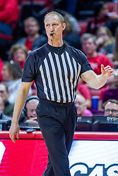 NORMAL, IL - February 22:  Dave Cusick during a college basketball game between the ISU Redbirds and the Drake Bulldogs on February 22 2020 at Redbird Arena in Normal, IL. (Photo by Alan Look)