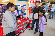 School choice open house at Jordan HS, October 3, 2015.