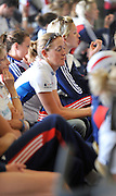 Reading, Great Britain,  Louisa REEVE and Vicky THORNLEY.  2011 GBRowing World Rowing Championship, Team Announcement. Press Conference.  GB Rowing  Caversham Training Centre.  Tuesday  19/07/2011  [Mandatory Credit. Peter Spurrier/Intersport Images]