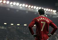 Photo: Paul Thomas.<br /> Manchester United v FC Copenhagen. UEFA Champions League, Group F. 17/10/2006.<br /> <br /> Cristiano Ronaldo of Man Utd.