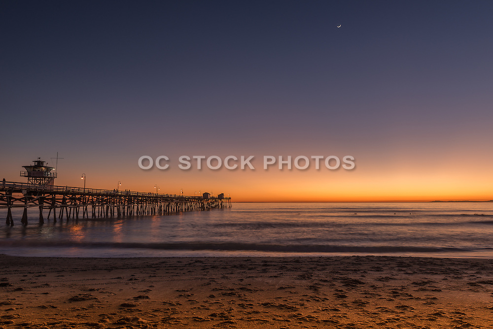 San Clemente Pier at Twilight