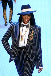 Men's Fashion, Dolce & Gabbana Fashion Show, Naomi Campbell (Maurizio Maule, Milan - 2018-06-16) ps the photo can be used respecting the context in which it was taken, and without the defamatory intent of the people represented