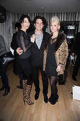 STEPHEN & ASSIA WEBSTER and his daughter AMY WEBSTER at The Rodial Beautiful Awards in aid of the charity Kids Company held in the Billiard Room at The Sanderson, 50 Berners Street, London on 3rd February 2010.