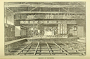 Theatre at Tokushima from the book ' Rambles in Japan : the land of the rising sun ' by Tristram, H. B. (Henry Baker), 1822-1906. Publication date 1895. Publisher New York : Revell