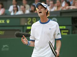 July 1, 2006 - Wimbledon, United Kingdom - Tennis. Wimbledon. Andy Murray Wimbledon 2006. (Credit Image: © Arne Forsell/Bildbyran via ZUMA Press)