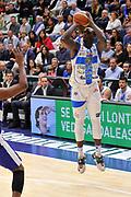 DESCRIZIONE : Campionato 2014/15 Dinamo Banco di Sardegna Sassari - Enel Brindisi<br /> GIOCATORE : Rakim Sanders<br /> CATEGORIA : Tiro Tre Punti<br /> SQUADRA : Dinamo Banco di Sardegna Sassari<br /> EVENTO : LegaBasket Serie A Beko 2014/2015<br /> GARA : Dinamo Banco di Sardegna Sassari - Enel Brindisi<br /> DATA : 27/10/2014<br /> SPORT : Pallacanestro <br /> AUTORE : Agenzia Ciamillo-Castoria / Luigi Canu<br /> Galleria : LegaBasket Serie A Beko 2014/2015<br /> Fotonotizia : Campionato 2014/15 Dinamo Banco di Sardegna Sassari - Enel Brindisi<br /> Predefinita :