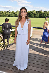 Louise Thompson at the Laureus polo Cup at Ham Polo Club, Ham, London, England. 21 June 2018.