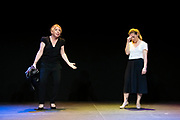 Chorus Play ''C'est pas moi, c'est lui'' in Youth Square Theatre, Hong Kong, China, on 28 May 2021. Photo by Lucas Schifres/Studio EAST