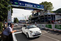 Finish line during 1st Stage of 27th Tour of Slovenia 2021 cycling race between Ptuj and Rogaska Slatina (151,5 km), on June 9, 2021 in Slovenia. Photo by Vid Ponikvar / Sportida