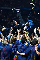 Celebration Esultanza Luis Enrique <br /> Berlino 06-06-2015 OlympiaStadion  <br /> Juventus Barcelona - Juventus Barcellona <br /> Finale Final Champions League 2014/2015 <br /> Foto Matteo Gribaudi/Image Sport/Insidefoto