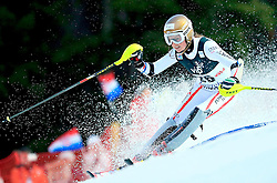 04.01.2013, Crveni Spust, Zagreb, AUT, FIS Ski Alpin Weltcup, Slalom, Damen, 1. Lauf, im Bild Bernadette Schild (AUT) // Bernadette Schild of Austria in action during 1st Run of the ladies Slalom of the FIS ski alpine world cup at Crveni Spust course in Zagreb, Croatia on 2013/01/04. EXPA Pictures © 2013, PhotoCredit: EXPA/ Pixsell/ Slavko Midzor..***** ATTENTION - for AUT, SLO, SUI, ITA, FRA only *****