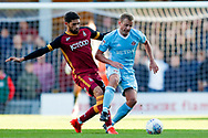 Sunderland midfielder Lee Cattermole (6) is fouled during the EFL Sky Bet League 1 match between Bradford City and Sunderland at the Northern Commercials Stadium, Bradford, England on 6 October 2018.