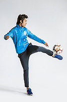 **EXCLUSIVE**Portrait of Chinese soccer player Li Tixiang of Guangzhou R&F F.C. for the 2018 Chinese Football Association Super League, in Guangzhou city, south China's Guangdong province, 23 February 2018.