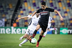 Klemen Pucko of NS Mura during football match between NS Mura and Rennes (FRA) in group stage of UEFA Europa Conference League 2021/22, on 20 of October, 2021 in Ljudski Vrt, Maribor, Slovenia. Photo by Blaž Weindorfer / Sportida
