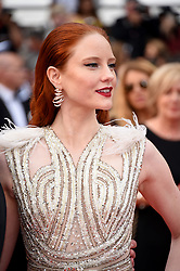 """May 14, 2019 - Cannes, France - 72nd Cannes Film Festival 2019, Red carpet film """"The dead don't die"""" and Opening Ceremony.Pictured: Barbara Meier (Credit Image: © Alberto Terenghi/IPA via ZUMA Press)"""