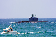 Israeli Navy Dolphin class submarine