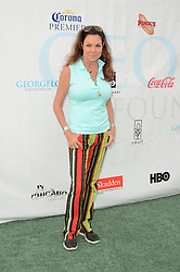 12th Annual George Lopez Celebrity Golf Classic Arrivals 2, Lakeside Country Club. 06 May 2019 Pictured: Paula Trickey. Photo credit: David Edwards / MEGA TheMegaAgency.com +1 888 505 6342