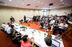 Press conference of 25th Tour de Slovenie 2018 cycling race, on June 12, 2018 in Hotel Livada, Moravske Toplice, Slovenia. Photo by Vid Ponikvar / Sportida