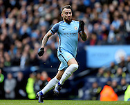 Nicolas Otamendi of Manchester City during the Premier League match at the Etihad Stadium, Manchester. Picture date: December 3rd, 2016. Pic Simon Bellis/Sportimage