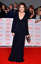 Charlotte Bellamy attending the National Television Awards 2018 held at the O2 Arena, London. PRESS ASSOCIATION Photo. Picture date: Tuesday January 23, 2018. See PA story SHOWBIZ NTAs. Photo credit should read: Matt Crossick/PA Wire