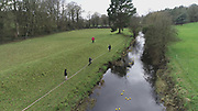 Fund Raiser for Charity, Duck Race on Dee River, in County Meath,