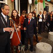 Opening dierenartsenpraktijk Liem & Pesman Huizen door burgemeester Verdier