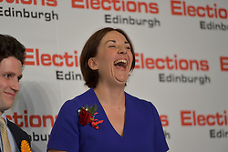 SCOTTISH PARLIAMENTARY ELECTION 2016 – Kezia Dugdale Scottish Labour Party at the Royal Highland Centre, Edinburgh for the counting of votes and declaration of results.<br />(c) Brian Anderson   Edinburgh Elite media