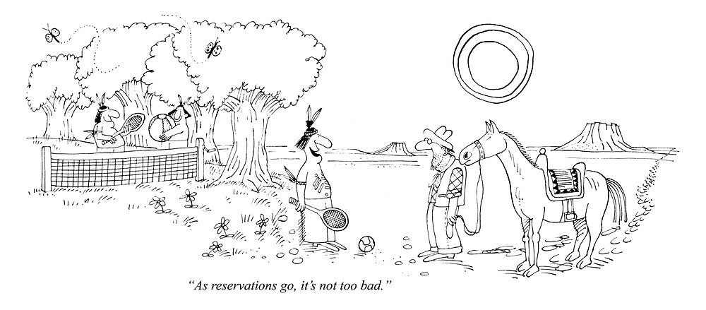 """""""As reservations go, it's not too bad."""""""