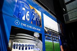 John Terry's picture is seen outside the stadium ahead of his final Chelsea game before retirement - Rogan Thomson/JMP - 21/05/2017 - FOOTBALL - Stamford Bridge - London, England - Chelsea v Sunderland - Premier League..