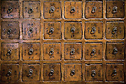 Traditional Chinese apothecary chest