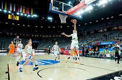 Jaka Klobucar of Slovenia during basketball match between Slovenia vs Netherlands at Day 4 in Group C of FIBA Europe Eurobasket 2015, on September 8, 2015, in Arena Zagreb, Croatia. Photo by Vid Ponikvar / Sportida