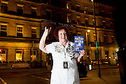 03/11/2016 Repro fee: Rita Gilligan's book The Rock 'n' Roll Waitress from The Hard Rock Cafe My Life in Hotel Meyrick, Galway was launched my Cllr. Noel Larkin Mayor of Galway. At the launch was author Rita Gilligan back where it all started.    Photo :Andrew Downes, XPOSURE