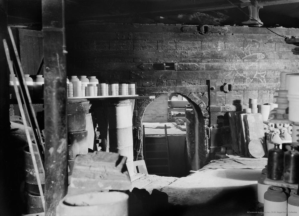 A Kiln Doorway, Doulton's Pottery, England, 1928