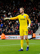 Jason Steele (23) of Brighton and Hove Albion during the The FA Cup 3rd round match between Bournemouth and Brighton and Hove Albion at the Vitality Stadium, Bournemouth, England on 5 January 2019.