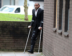 Crystal Palace captain Jason Puncheon in court - 5 Jan 2018
