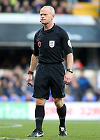 Referee Andy Woolmer<br /> <br /> Photographer David Shipman/CameraSport<br /> <br /> The EFL Sky Bet Championship - Ipswich Town v Preston North End - Saturday 3rd November 2018 - Portman Road - Ipswich<br /> <br /> World Copyright © 2018 CameraSport. All rights reserved. 43 Linden Ave. Countesthorpe. Leicester. England. LE8 5PG - Tel: +44 (0) 116 277 4147 - admin@camerasport.com - www.camerasport.com