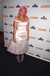 LILY ALLEN at the 2008 Glamour Women of the Year Awards 2008 held in the Berkeley Square Gardens, London on 3rd June 2008.<br />