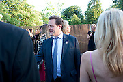 TOBY ROWLAND, The Summer Party. Serpentine Gallery. 8 July 2010. -DO NOT ARCHIVE-© Copyright Photograph by Dafydd Jones. 248 Clapham Rd. London SW9 0PZ. Tel 0207 820 0771. www.dafjones.com.