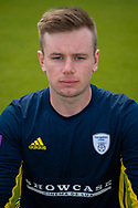 Mason Crane of Hampshire during the 2019 press day for Hampshire County Cricket Club at the Ageas Bowl, Southampton, United Kingdom on 27 March 2019.