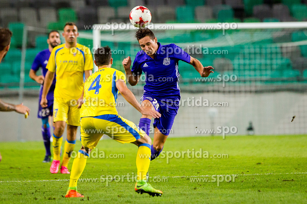 Maxime Lopez of Olympic Marseille during football match between NK Domzale and Olympique de Marseille in First game of UEFA Europa League playoff round, on August 17, 2017 in SRC Stozice, Ljubljana, Slovenia. Photo by Ziga Zupan / Sportida